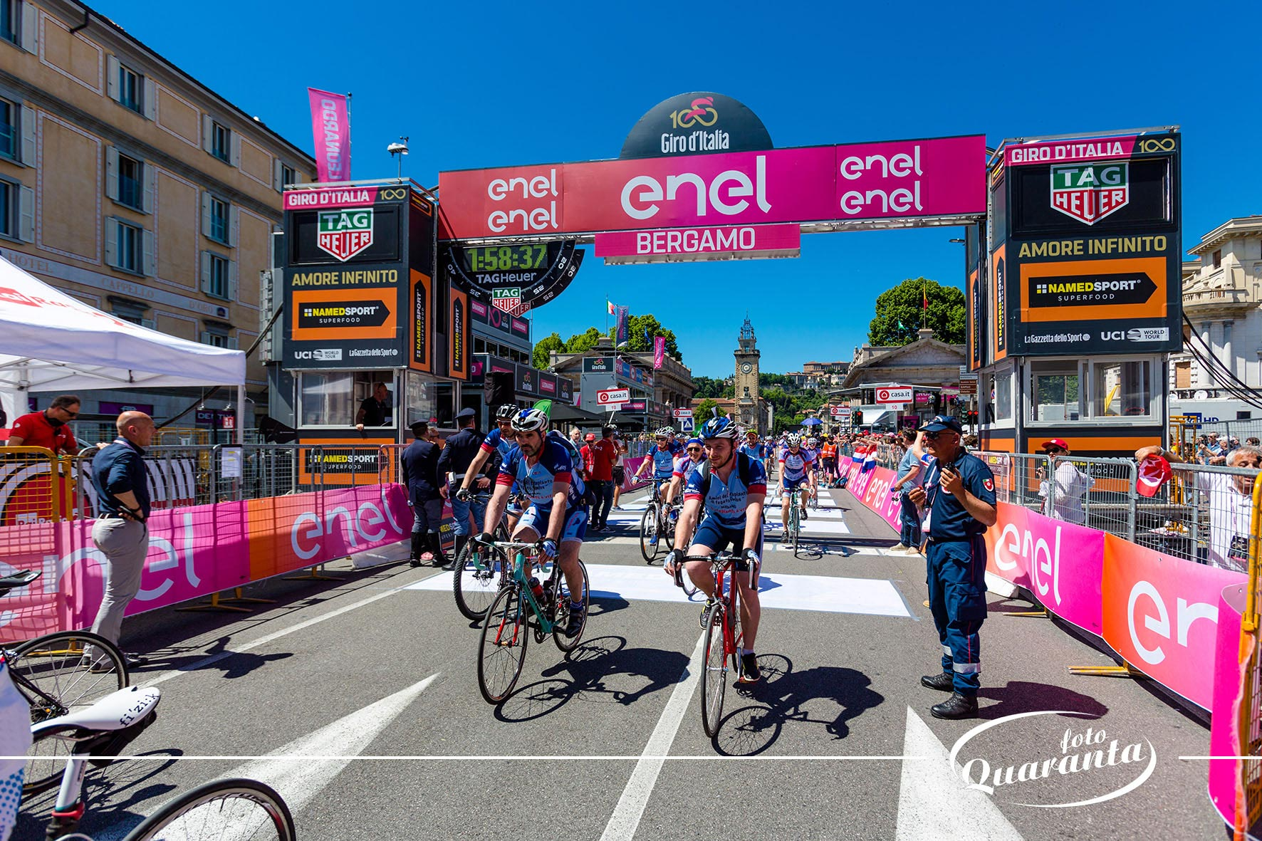 Tappa Bergamo - Giro d'Italia 2017