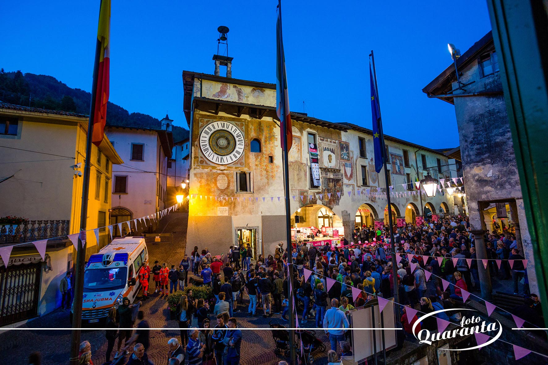 Notte Rosa Clusone - Giro d'Italia 2017